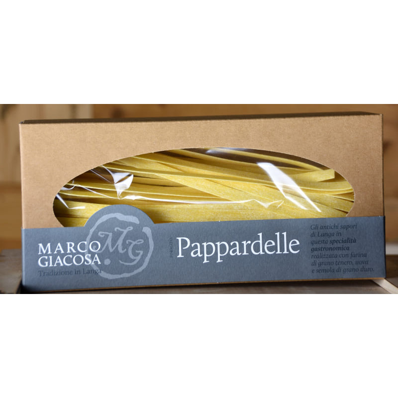 Pappardelle pasta piemontese di Marco Giacosa 250 gSiziliengenuss